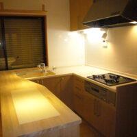LDK:キッチン改修工事